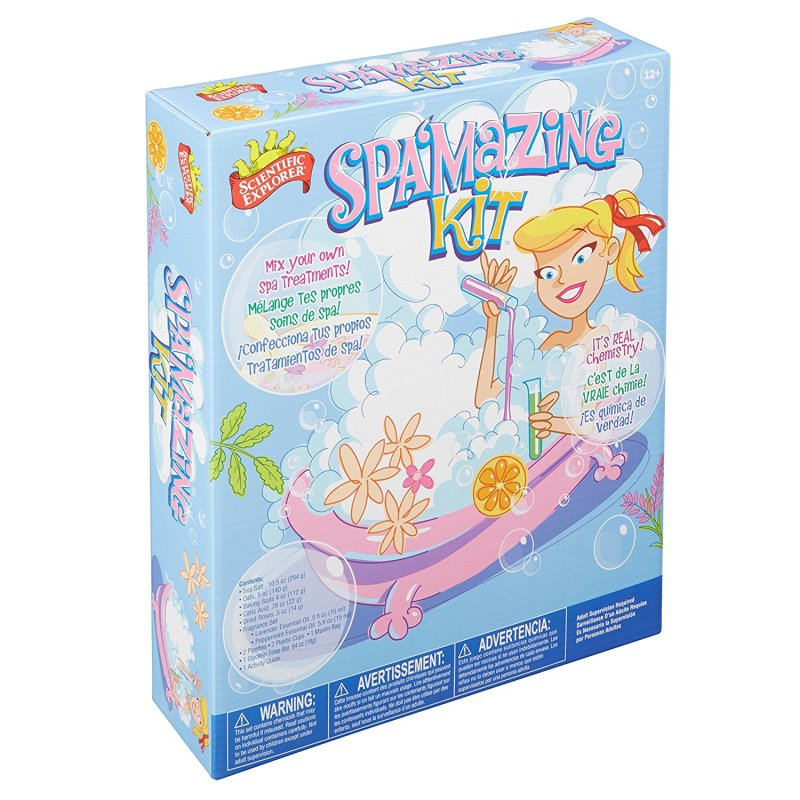 Teaching Toys for Kids Gift Guide | Scientific Explorer Spa'mazing Kit