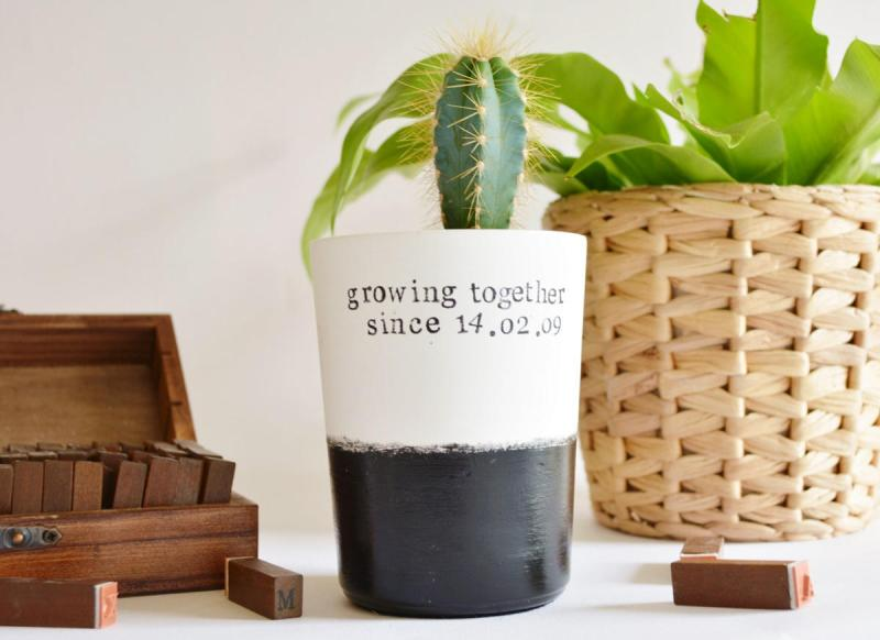 10 Fun Finds For Valentine's Day - growing together planter from Imperfect
