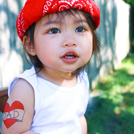 10 Fun Finds For Valentine's Day - kids temporary tattoo from Happy Tatts