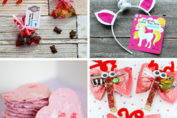 18 Fun and Easy DIY Kids Valentines for the Classroom - candy and non candy ideas for school #free #printable