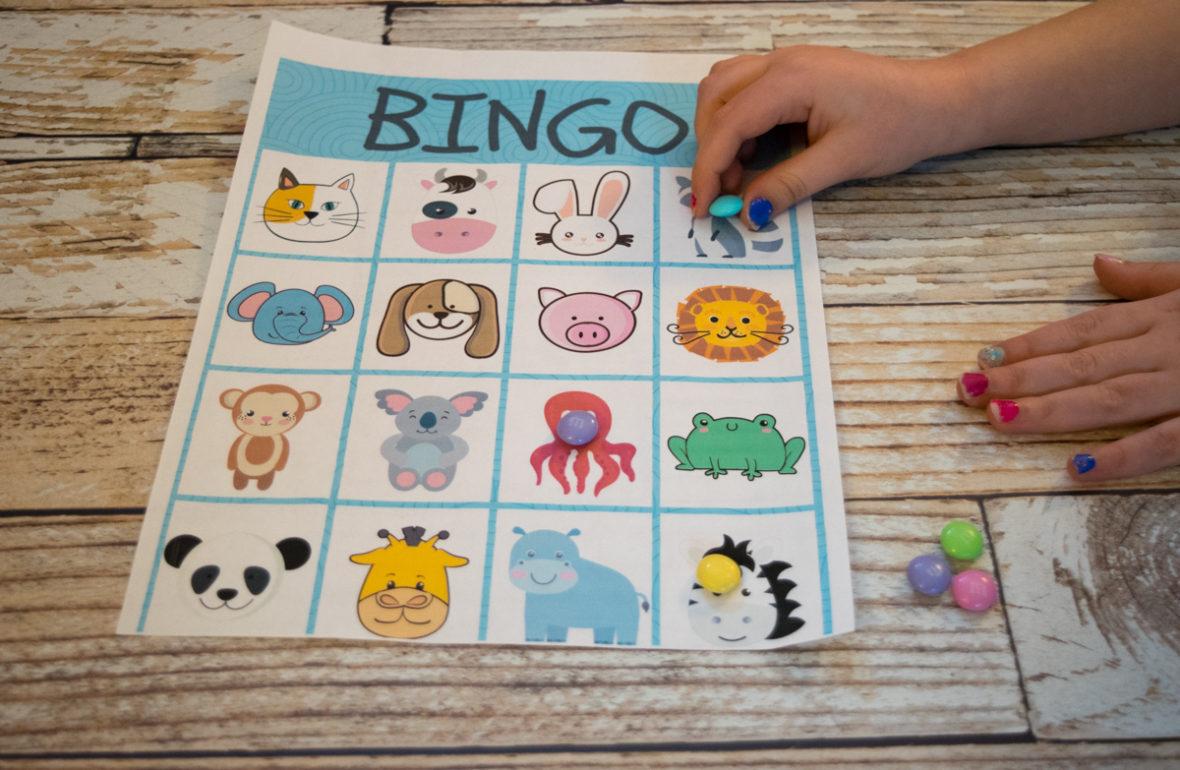3 Fun Free Kids Printables Bingo Restaurant Checks And