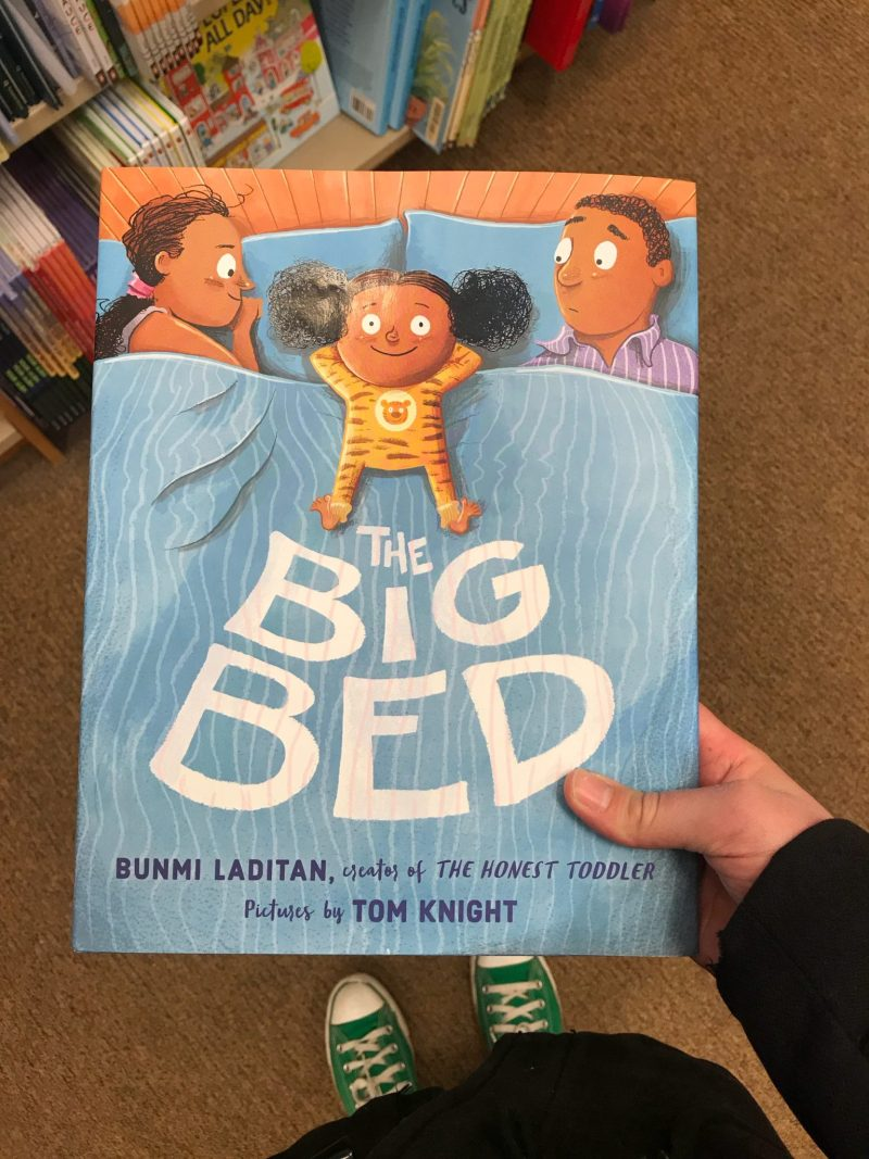 What We Read - The Big Bed - picture book