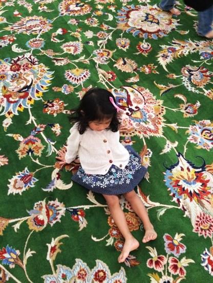 Abu Dhabi Grand Mosque Carpet