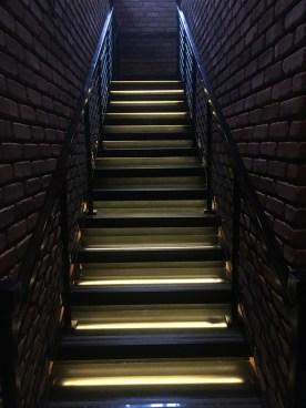 Boca Restaurant Stairs