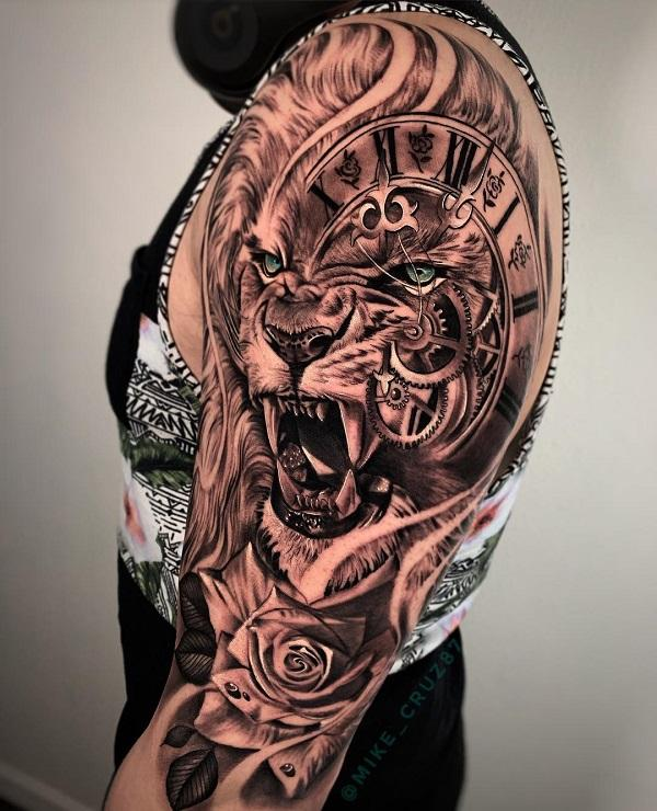 3d Tattoos Sleeves : tattoos, sleeves, Sleeve, Tattoo, Designs, Cuded
