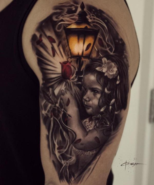 Portrait Sleeve Tattoos : portrait, sleeve, tattoos, Sleeve, Tattoo, Designs, Cuded