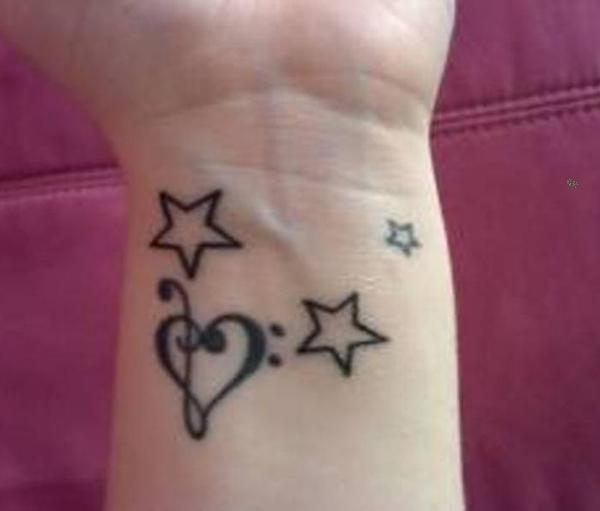 12 Wonderful Heart Wrist Tattoos