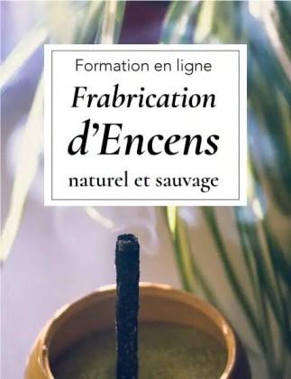 Fabrication d'encens naturel et sauvage | Formation en ligne