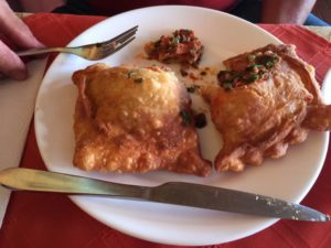 Rancho Chileano is best known for its empanadas.