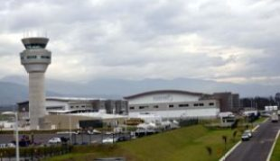 New Quito airport at Tababela.