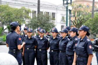 Crime bureau says that increased numbers of citizen guards are helping to deter petty and property crime.