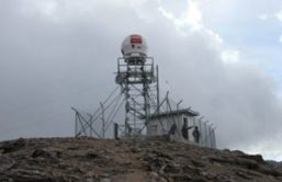 Weather radar station west of Cuenca. Photo credit: El Mercurio.