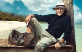 Actor Sean Connery in a Cuenca-made Panama hat.