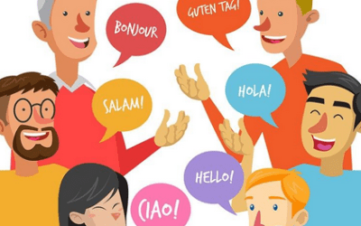 When communicating with someone in their second language, speak to be understood
