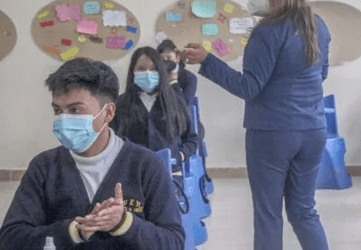 Students back in class for first time since March 2020; City considers reopening brothels; Damaged water system repaired; Vaccination program advances