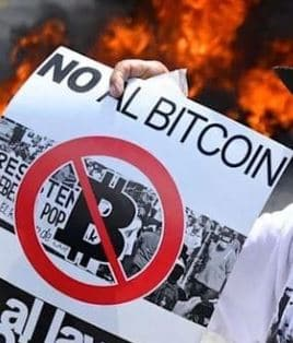 El Salvador protesters take to the streets to oppose the adoption of Bitcoin