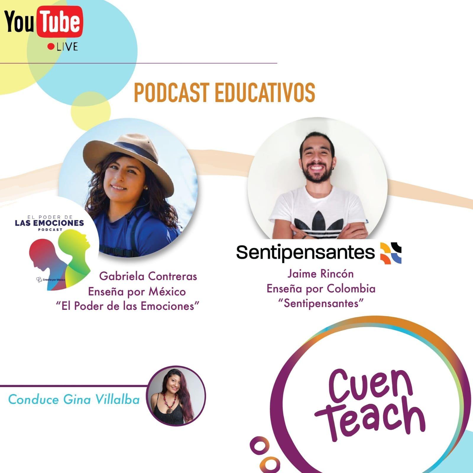 Entrevista a Podcast Educativos - Sentipensantes y El poder de las emociones