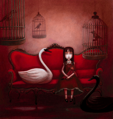 Cécile Roumiguière, Benjamine Lacombe: La niña silencio (3/3)