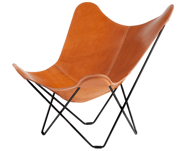 Leather Butterfly Chair  Pampa Mariposa  CUERO