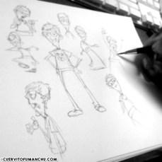 Fumanchu-Sketch005