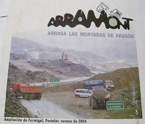 Aramon arrasando las montañas de Aragón 1