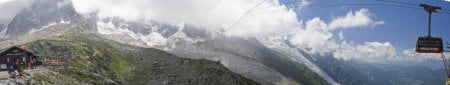 panoramica alpes chamonix pla auguille du midi