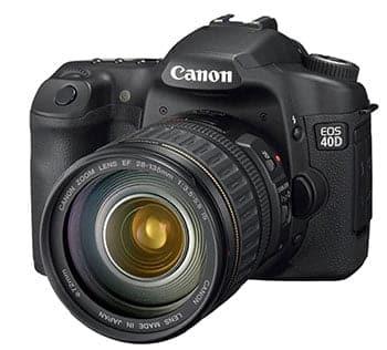 Camara nueva, Canon EOS 40D 2