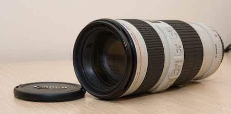 "Actualizacion de objetivos, teleobjetivo Canon 70-200 F4 IS ""Copisto"" 2"