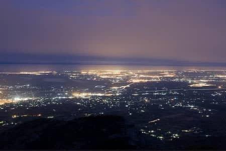 Senderismo nocturno, subida a la Vella en Crevillent 1