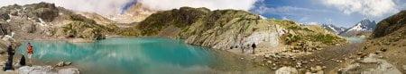 Alpes: Subida al lago Blanco 2