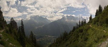 Alpes: Balcón sur y subida al Brevent 2525m 13