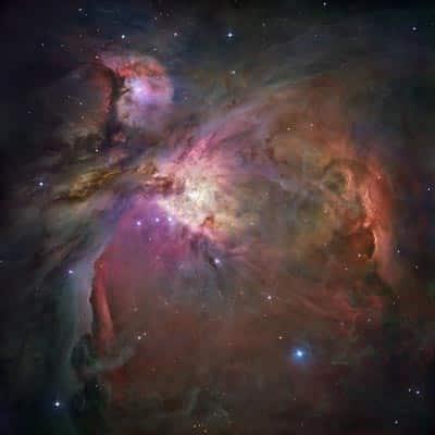 El Hubble observa la Nebulosa de Orión 35