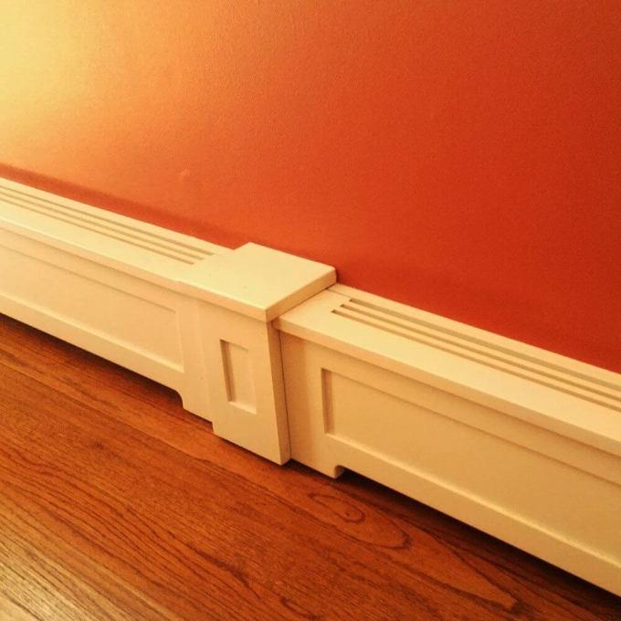 Making Baseboard Heater Covers
