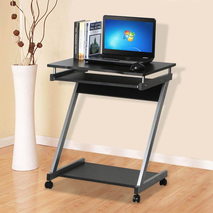 Corner-Computer-Desk-Small-Spaces-on-Castors-PC-Table-Bedroom-Home-Office-Study-232355112350