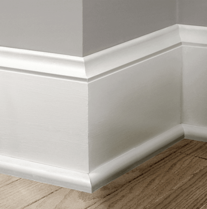 Modern Baseboard Trim Idea 22 Popular Of Style And Base Molding For Your Inside Decor 1 House Door Color