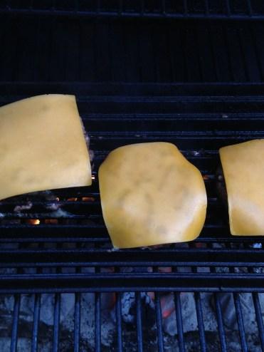 Cheeseburgers on ManGrate