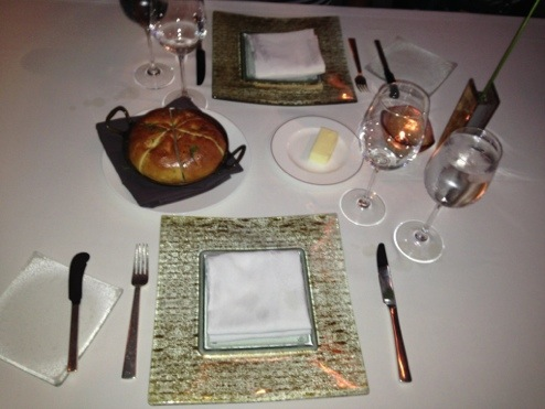 Table Setting at Grant Grill