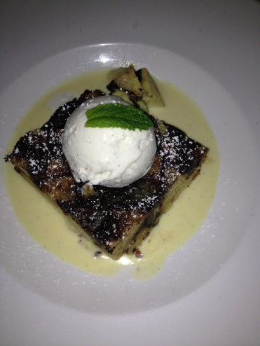 Chocolate Brioche Bread Pudding at Taste at the Palisades
