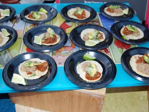 Taco Bilingue from Loteria Taco at The Taste of Mexico 2013