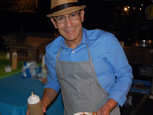 Ricky of Ricky's Fish Tacos at The Taste of Mexico 2013
