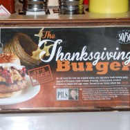 The Thanksgiving Burger at Slater's 50/50