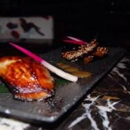 Black Cod accompanied w/ Nasu Miso at NOBU