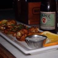 Jerk Chicken Wings at The Basement Tavern