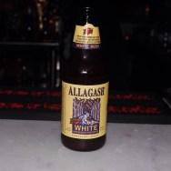 Allagash White at The Basement Tavern