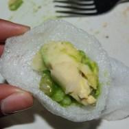 Rock Shrimp on Prawn Crackers at Formosa Café