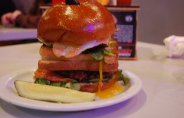 #Excesstasy Burger at Slater's 50/50 - Janaury 2014 Burger of The Month