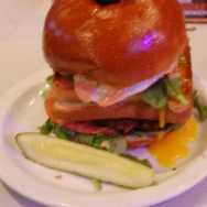 The #Excesstasy Burger at Slater's 50/50