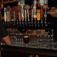 O.G. Chris pouring my beers at Slater's 50/50