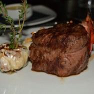 10oz Filet of Bison w/ Lobster Tail at Oliver's Prime