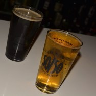 Fathers Nut Brown Ale & Angry Orchard Crisp Apple Cider at Slater's 50/50